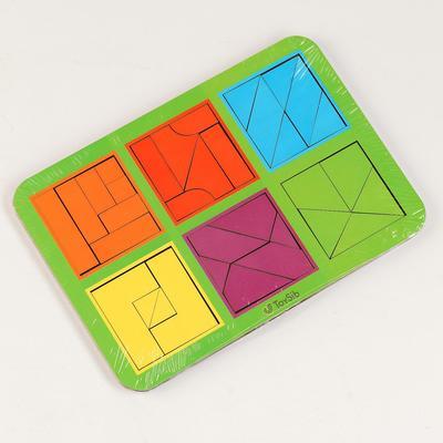 Квадраты Никитина 3 уровня, 6 квадратов (бизиборды) - Фото 1