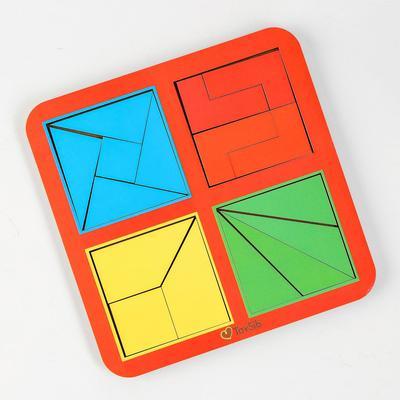 Квадраты Никитина 2 уровня, 4 квадрата (бизиборды) - Фото 1
