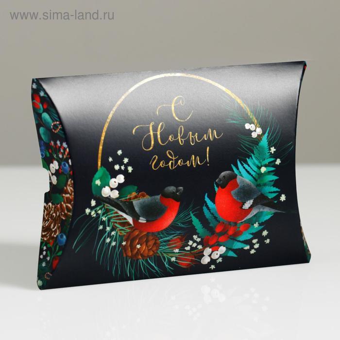 Коробка сборная фигурная «Новогодняя сказка», 11 × 8 × 2 см