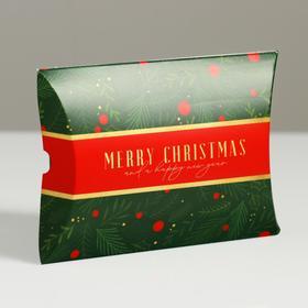 Коробка сборная фигурная «Время подарков», 11 × 8 × 2 см