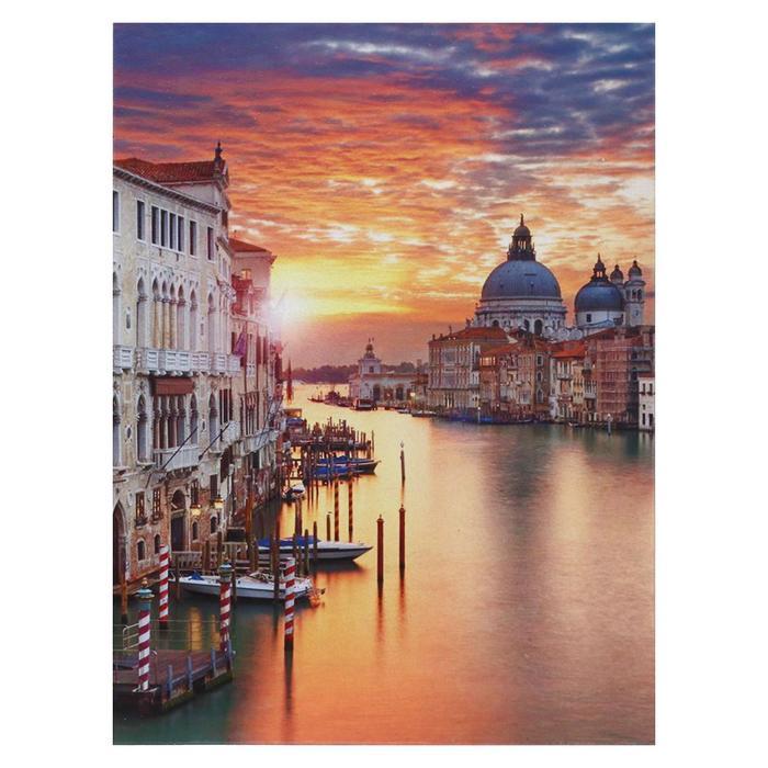 Картина Город на рассвете 3040 см