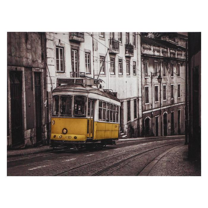 Картина Желтый трамвай 3040 см