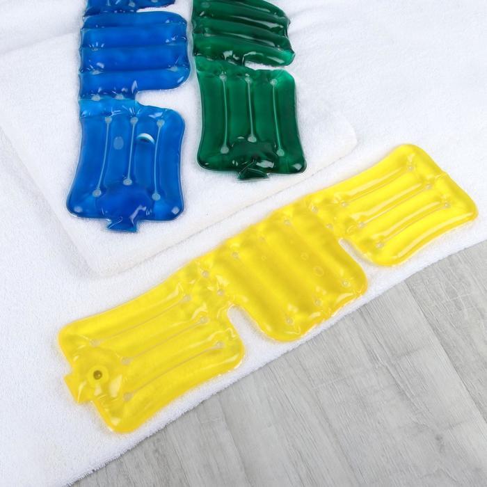 Грелка солевая медицинская физиотерапевтическая «Воротник», цвет МИКС