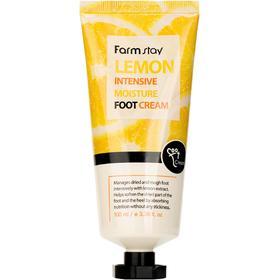 Крем для ног увлажняющий FarmStay с экстрактом лимона, 100 мл