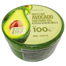 Увлажняющий успокаивающий гель Lebelage с экстрактом авокадо, 300 мл