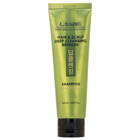 Освежающий шампунь L.Sanic для глубокого очищения волос и кожи головы, 120 мл
