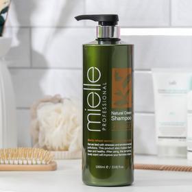 Освежающий шампунь Mielle Professional с ментолом и экстрактами растений, 1000 мл