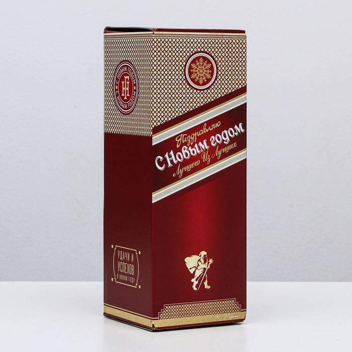 Коробка складная Новогодний, 12 х 33,6 х 12 см