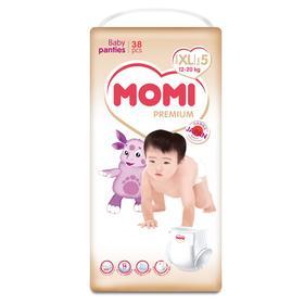 Подгузники-трусики MOMI Premium XL ( 12-20 кг), 38 шт