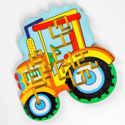 Лабиринт средний «Трактор» - Фото 1