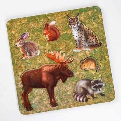 Рамка-вкладыш «Дикие животные. Лось» - Фото 1