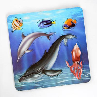 Рамка-вкладыш «Морские обитатели. Кит» - Фото 1