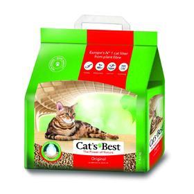 Наполнитель древесный комкующийся Cat's Best Original, 10 л, 4,3 кг
