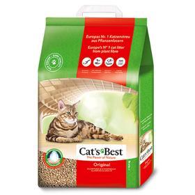 Наполнитель древесный комкующийся Cat's Best Original, 20 л, 8,6 кг