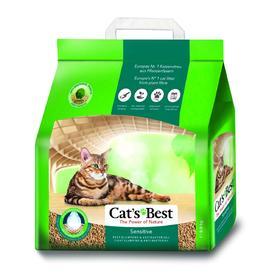 Наполнитель древесный комкующийся Cat's Best Sensitive, 8 л, 2,9 кг