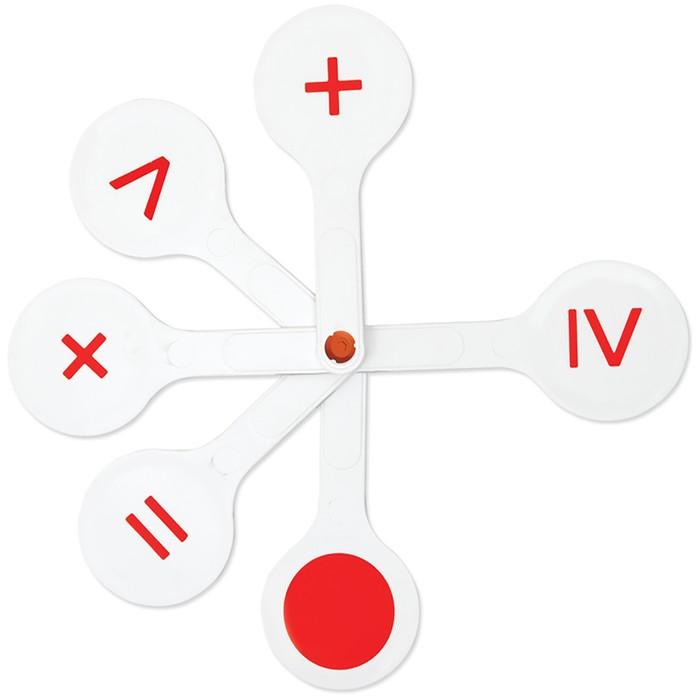 Касса «Веер», математические знаки