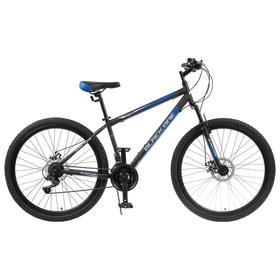 Велосипед 27.5' Black One Onix D, цвет чёрный/синий/серый, размер 18' Ош