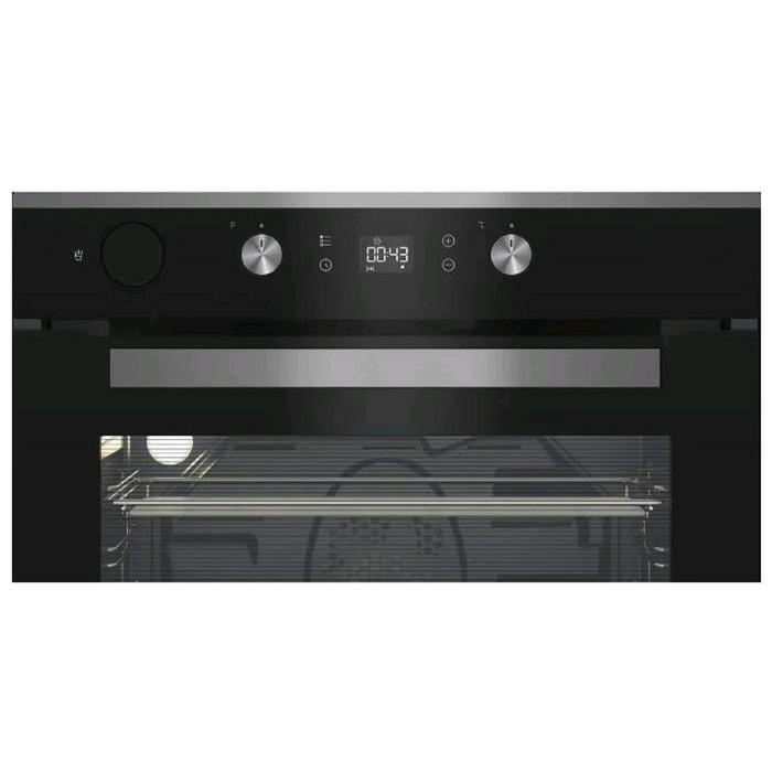 Духовой шкаф Beko BIS 15300 X, электрический, 71 л, 9 программ, гриль, чёрная