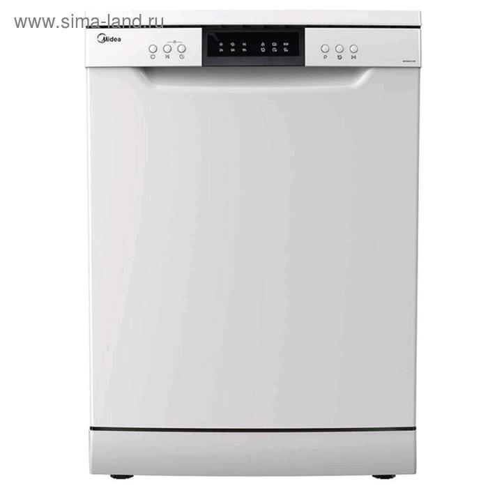 Посудомоечная машина Midea MFD60S110W, 4 программы, 11 л, 14 комплектов, белая