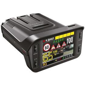 Видеорегистратор + радар детектор Inspector BARRACUDA, 2.4', обзор 135°, 1920x1080 Ош