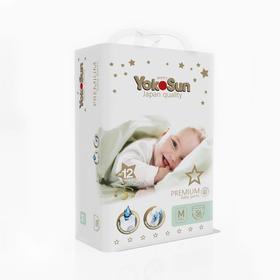 Подгузники-трусики YokoSun Premium M (6-10 кг), 56 шт