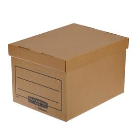 "Короб архивный Bankers Box ""Basic"" 335x445x270, гофрокартон"
