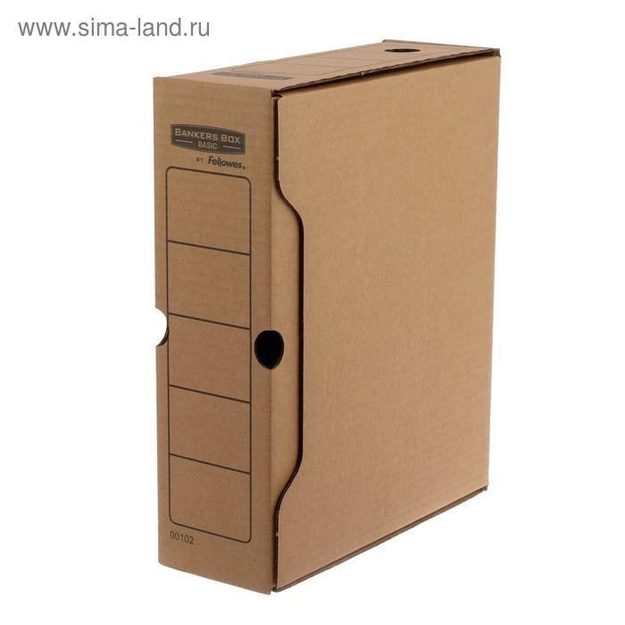 "Короб архивный Bankers Box ""Basic"" 100x260x312, гофрокартон"