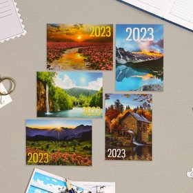 Карманный календарь 'Природа - 1' 2022 год, 7 х 10 см, МИКС Ош