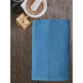 Полотенце ast cotton, размер 65 × 130 см,  голубой