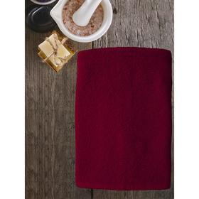 Полотенце ast cotton, размер 65 × 130 см,  бордовый