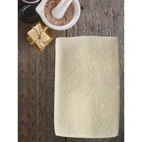 Полотенце ast cotton, размер 65 × 130 см,  молочный