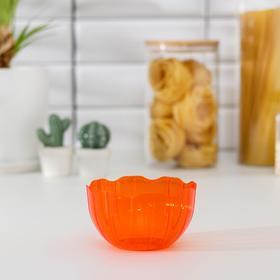 Салатник Elis, 0,5 л, цвет оранжевый