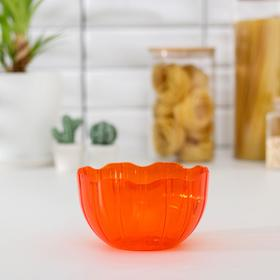 Салатник Elis, 1 л, цвет оранжевый