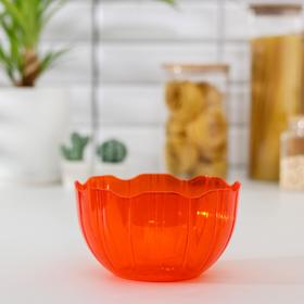 Салатник Elis, 1,7 л, цвет оранжевый