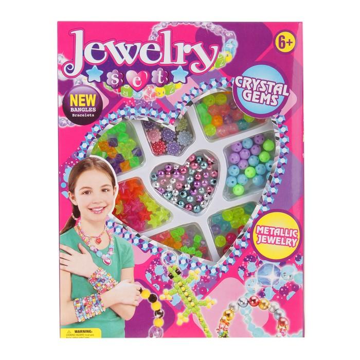 купить Набор бисероплетения Кристаллы, в коробке