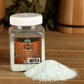 Бурлящие кристаллы 'Добропаровъ' из персидской соли с эфирным маслом можжевельника, 350 гр Ош