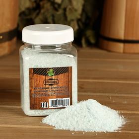 Бурлящие кристаллы 'Добропаровъ' из персидской соли с эфирным маслом пачули, 350 гр Ош