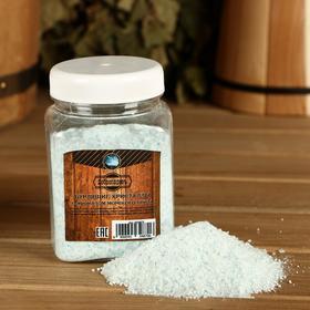 Бурлящие кристаллы 'Добропаровъ' из персидской соли с ароматизатором морской бриз, 350 гр Ош