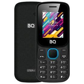 Сотовый телефон BQ M-1848 Step+, 1.77', 2 sim, 32Мб, microSD, 600 мАч, чёрно-голубой Ош
