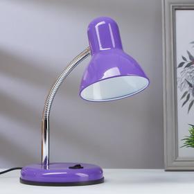 Лампа настольная светодиодная 8Вт LED 750Лм 14xSMD2835 шнур 1,5м фиолетовый