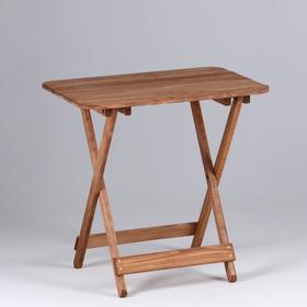 Стол складной, лакированный 80×60×75см Ош