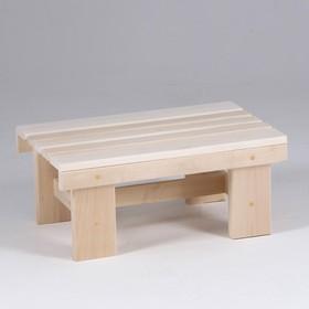 Скамейка банная 50×33×22см Ош