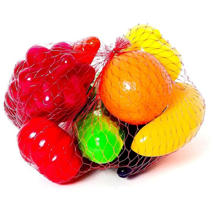 Набор «Фрукты-овощи», 8 предметов