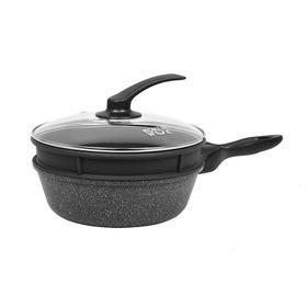 Сковорода-Вок с пароваркой(силикон) и крышкой Korea wok KWS2624MS, 26 см