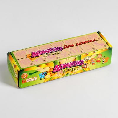 Домино детское «Для девочек» 28 элементов - Фото 1