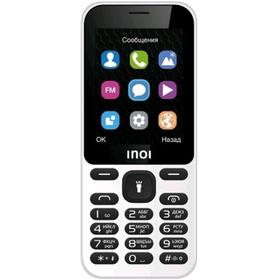 "Сотовый телефон INOI 239, 2,4"", 64Мб, 2sim, 600мАч, без СЗУ, белый"