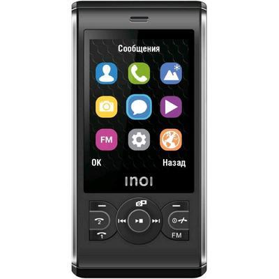 """Сотовый телефон INOI 249S, 2.4"""", 2sim, 32Мб, microSD, 0.1 Мп, 1000 мАч, чёрный - Фото 1"""