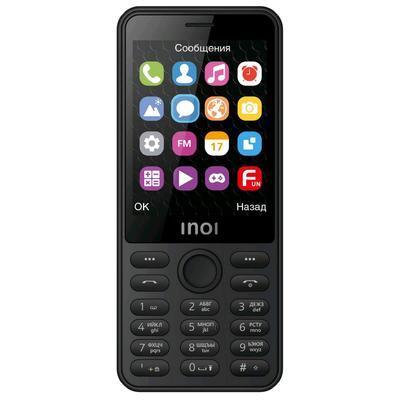 """Сотовый телефон INOI 289, 2,8"""", microSD, 0,08Мп, 2sim, Bt4,0, 2500мАч, чёрный - Фото 1"""