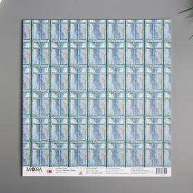 "Бумага для скрапбукинга ""Окно в Париж"" 30,5х30,5 см 190гр/м2   4357805"