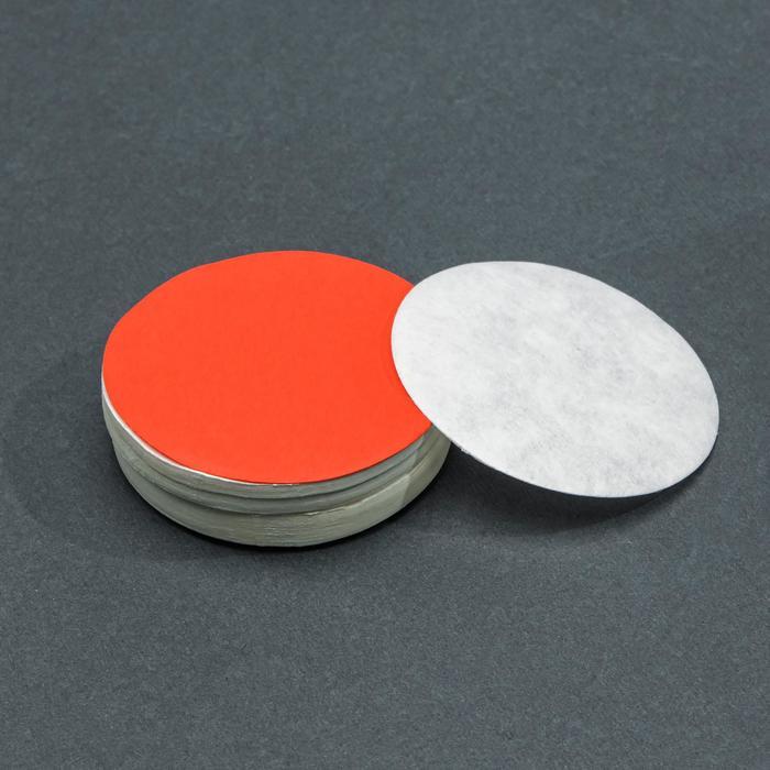 Фильтры d 55 мм, красная лента, марка ФБ, быстрой фильтрации, набор 100 шт